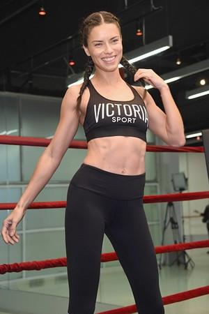 Train like an एंजल with: Adriana Lima