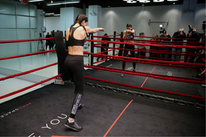 Train like an অ্যাঞ্জেল with: Adriana Lima