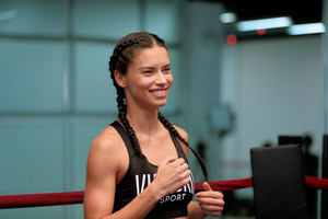 Train like an एंजल with: Adriana Lima