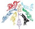 Tribal Eeveelutions tattoos