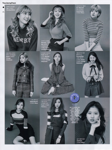 Twice (JYP Ent) वॉलपेपर entitled Twice ELLE KOREA