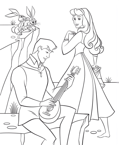 disney prince phillip coloring pages - photo#18