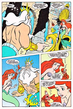 Walt ディズニー Comics – The Little Mermaid: Ariel & the Lobster's Loot (English Version)