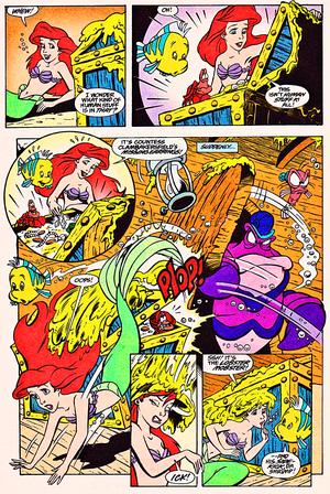 Walt Disney Comics – The Little Mermaid: Ariel & the Lobster's Loot (English Version)