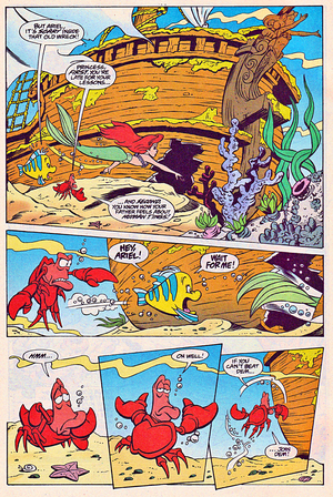 Walt Disney Comics – The Little Mermaid: Ariel & the Lobster's Loot (English Version)