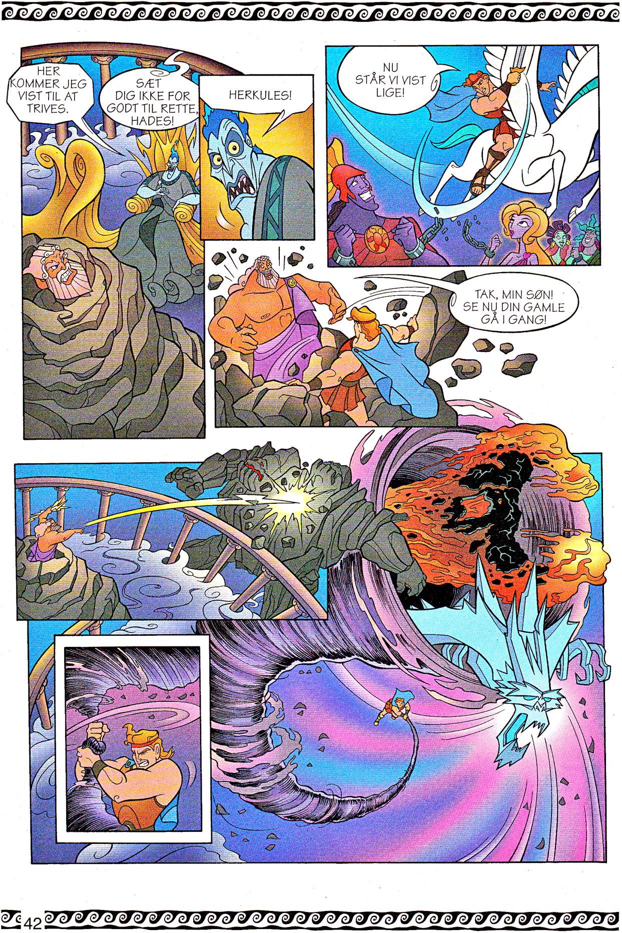 Walt Disney Movie Comics - Hercules (Danish 1997 Version)