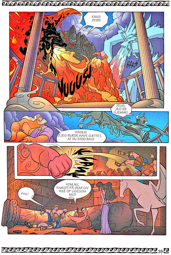월트 디즈니 캐릭터 바탕화면 entitled Walt 디즈니 Movie Comics - Hercules (Danish 1997 Version)