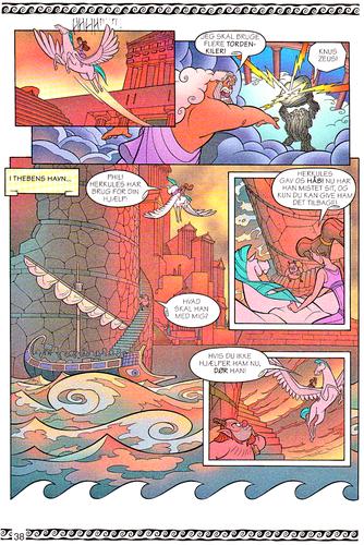 personnages de Walt Disney fond d'écran entitled Walt Disney Movie Comics - Hercules (Danish 1997 Version)