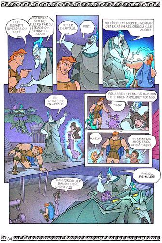 personnages de Walt Disney fond d'écran titled Walt Disney Movie Comics - Hercules (Danish 1997 Version)