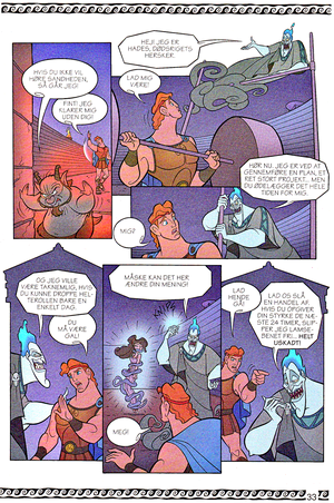 Walt ডিজনি Movie Comics - Hercules (Danish 1997 Version)