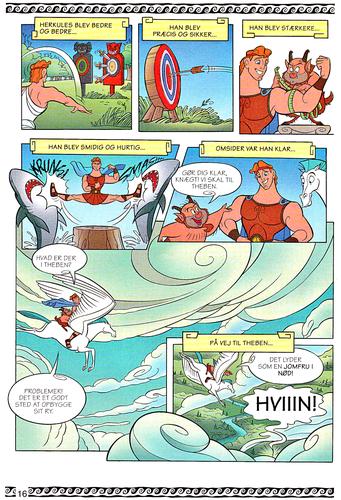 Walt Disney Characters achtergrond entitled Walt Disney Movie Comics - Hercules (Danish 1997 Version)