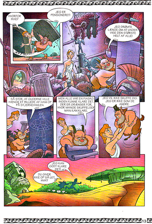 Walt ディズニー Movie Comics - Hercules (Danish 1997 Version)