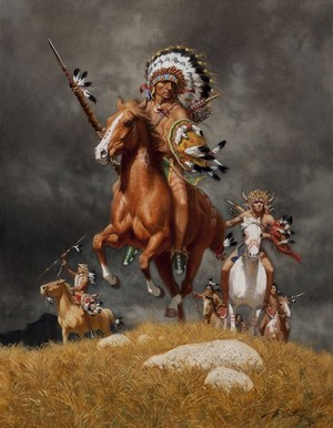 War Chief of the Sioux by Frank McCarthy