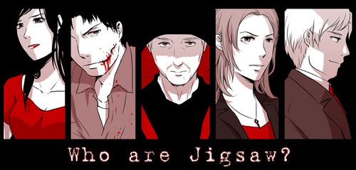jigsaw saw wallpaper. saw wallpaper with anime titled who are jigsaw? jigsaw