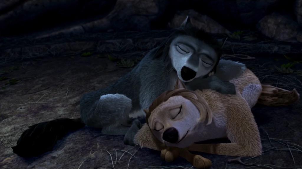 Winston and Eve Sleeping