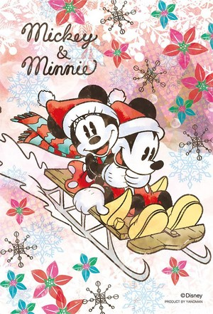 Winter Season - Mickey and Minnie