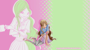 Winx WoW Wallpaper - Flora