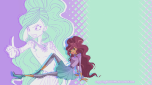 Winx WoW wallpaper - Layla