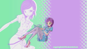 Winx WoW wallpaper - Tecna