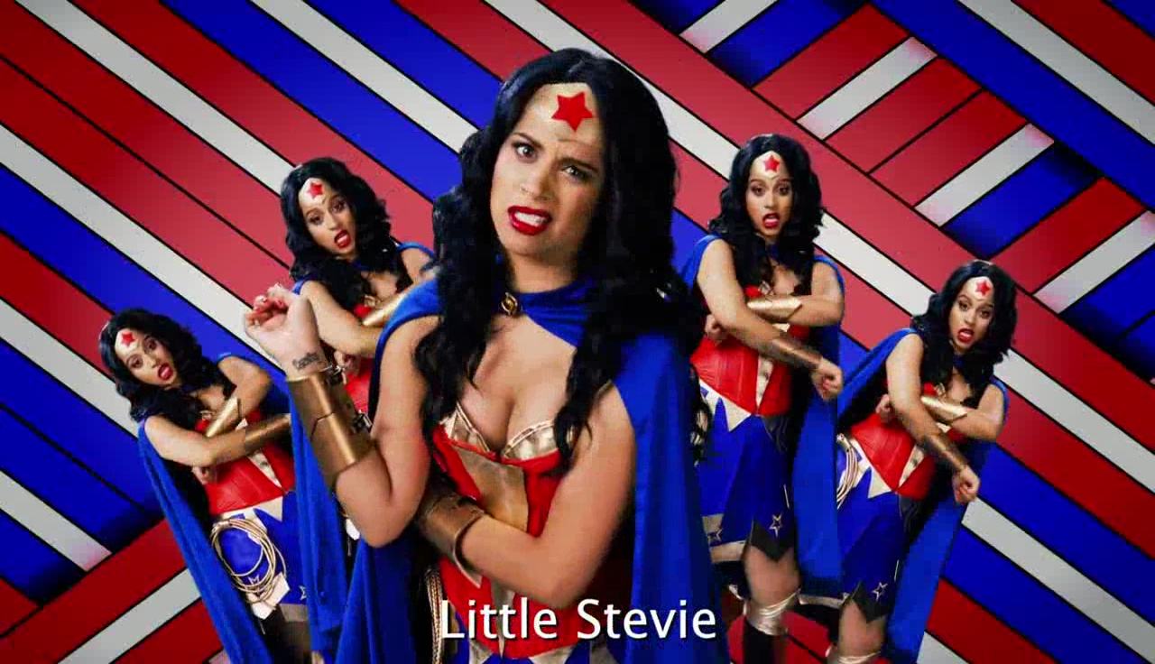 Wonder Woman vs Stevie Wonder {Rap Video}