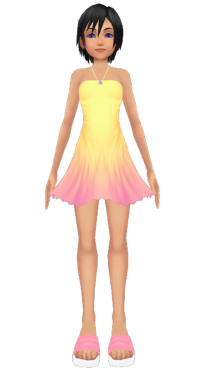 Xion Seashell Dress Kohaku ume
