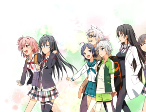 Yahari Ore no Seishun 사랑 Come wa Machigatteiru
