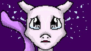 Young Mewtwo Pixel Art