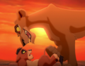 Zira and cub Kovu  - the-lion-king-2-simbas-pride photo