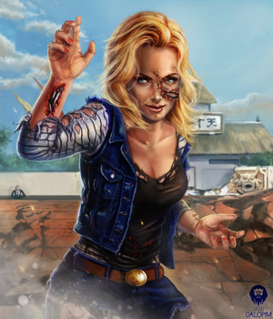 android  18 the bloody cartoon tournament