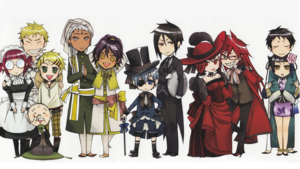 black butler (Who's your Избранное character)