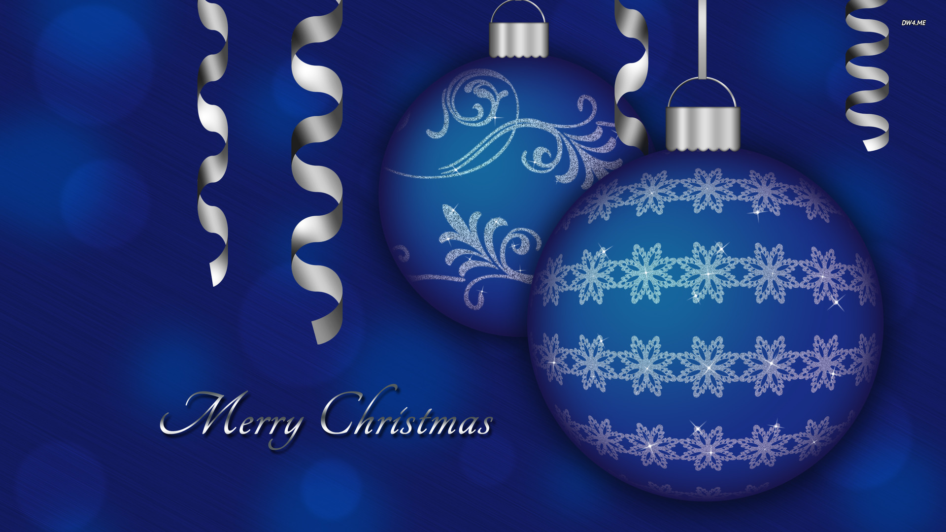 twinklestar11 images blue christmas baubles HD wallpaper and ...