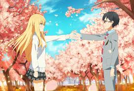 Shigatsu wa Kimi no Uso wallpaper possibly containing a bouquet entitled download 3