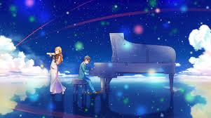 Shigatsu wa Kimi no Uso achtergrond possibly with a concert called download 4