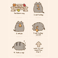 how to do thanksgiving  - pusheen-the-cat photo