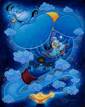 i dream of genie door tim rogerson