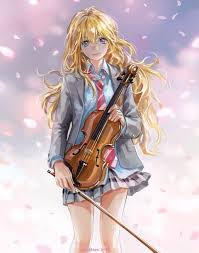 Shigatsu wa Kimi no Uso wallpaper with a pemain biola entitled gambar 5