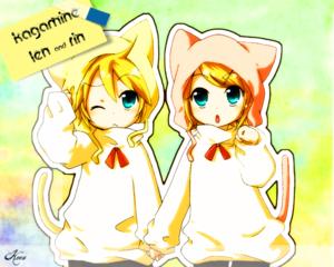 kagamine len and rin bởi koongambler 1