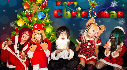 Kiryu 己龍 achtergrond titled kiryu christmas