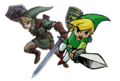 link and toon link - the-legend-of-zelda photo