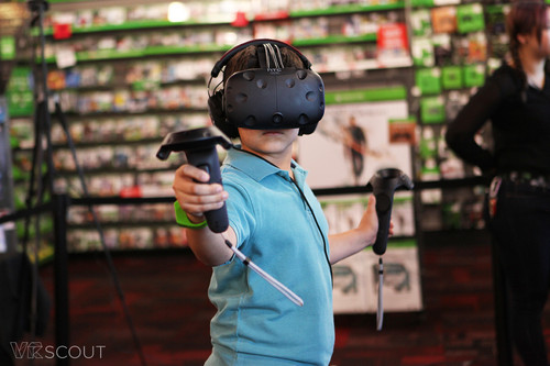 HTC Vive wallpaper called HTC Vive Gamestop