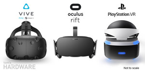Oculus Rift vs. HTC Vive vs. PlayStation