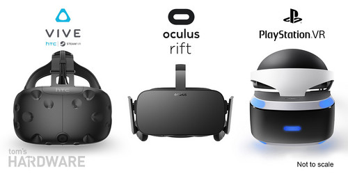 HTC Vive wallpaper called Oculus Rift vs. HTC Vive vs. PlayStation