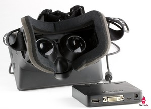 Oculus Rift Developer Version Back and Control Box