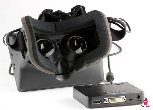 Oculus Rift wallpaper entitled Oculus Rift Developer Version Back and Control Box
