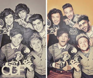 one direction then and now hariri 2