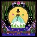 princess tiana by sandra equihua - disney fan art