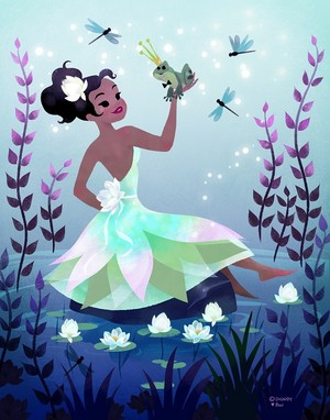 princess tiana bởi tara nicole whitaker