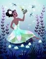 princess tiana by tara nicole whitaker - disney fan art