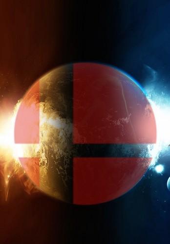 Roleplay Universe Wallpaper Titled Super Smash Bros Wii U 3ds Logo 2 Por Thewolfbunny D73jp82