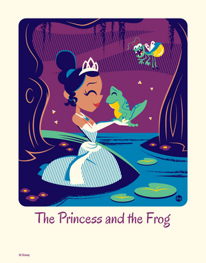 the princess and the frog 의해 dave perillo